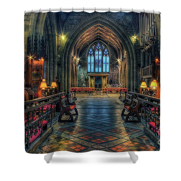 The Cathedral Church Of Saints Asaph And Cyndeym Shower Curtain