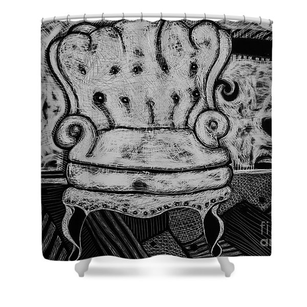 The Chair. Shower Curtain