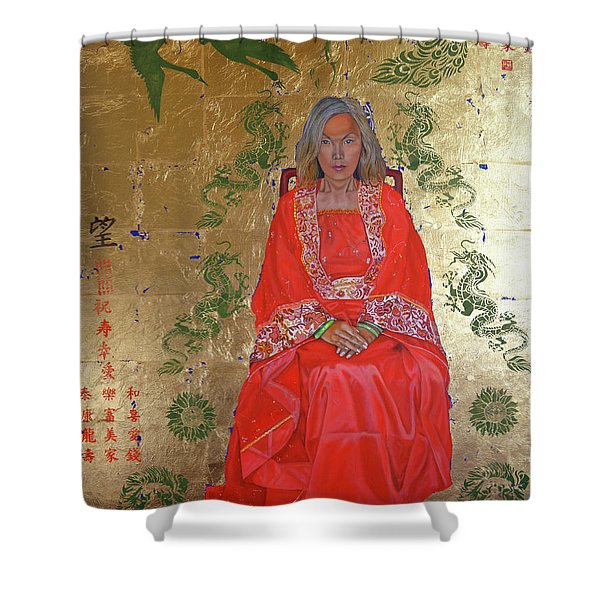 The Chinese Empress Shower Curtain