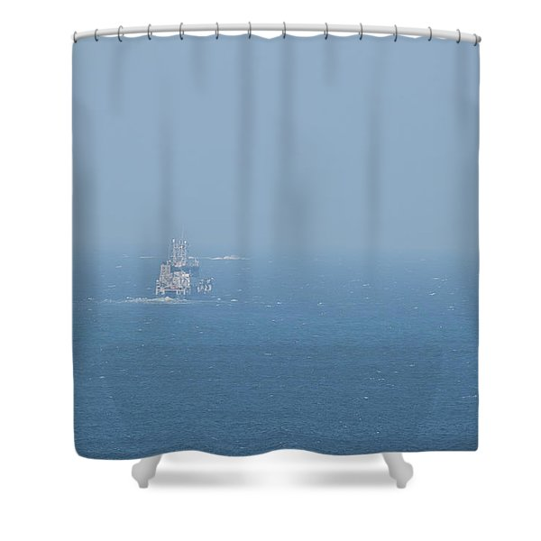 The Coast Guard Shower Curtain