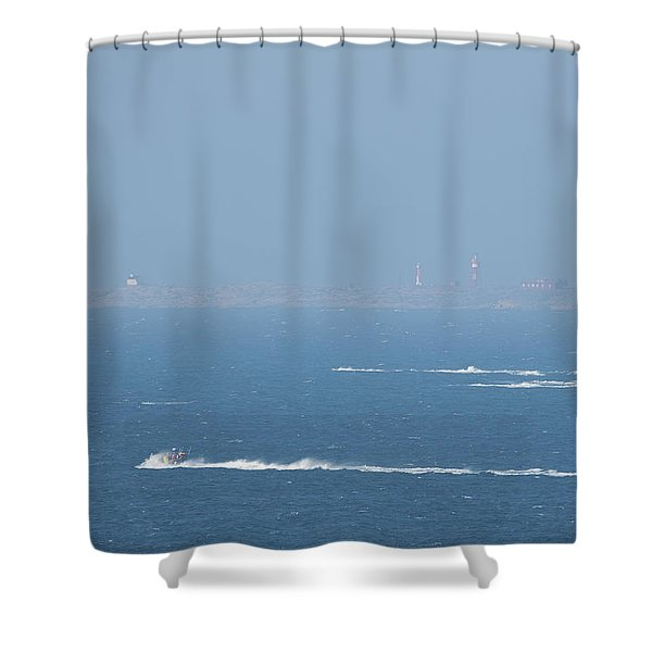 The Coast Guard's Rib Shower Curtain