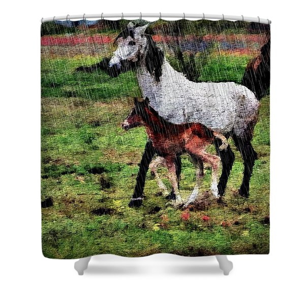 The Colt Shower Curtain