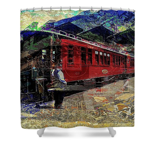 The Conductor Shower Curtain