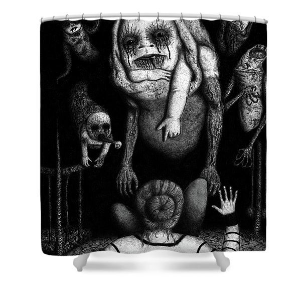 The Corrupted - Artwork Shower Curtain