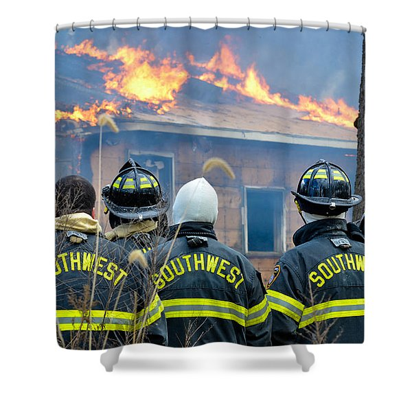 The Crew Shower Curtain
