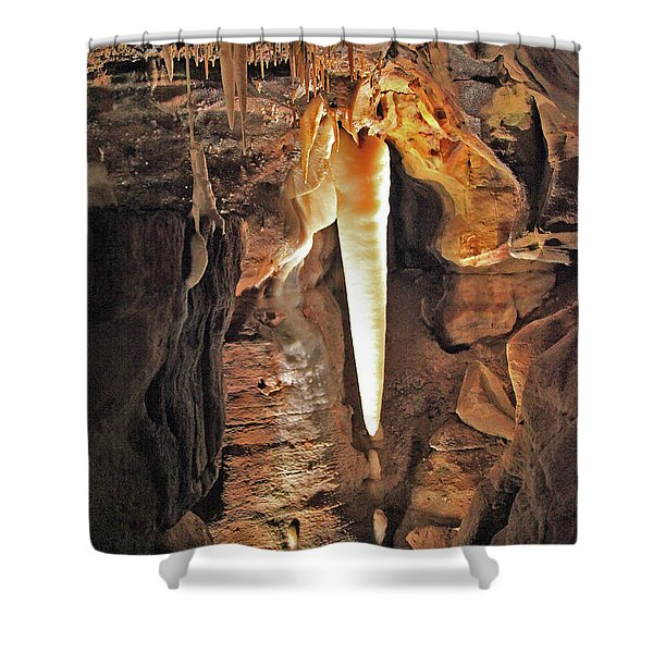 The Crystal King Shower Curtain