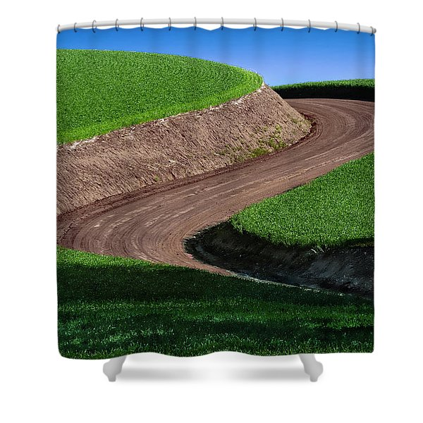 The Curve Shower Curtain