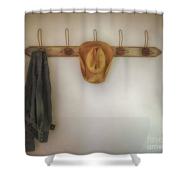 The Day's Leftovers Shower Curtain