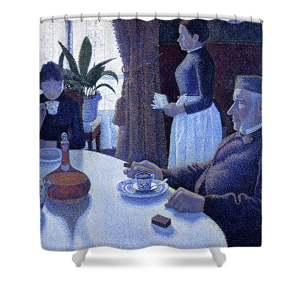 The Dining Room - Digital Remastered Edition Shower Curtain