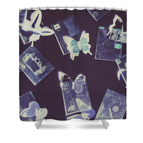 The Dream Post Shower Curtain