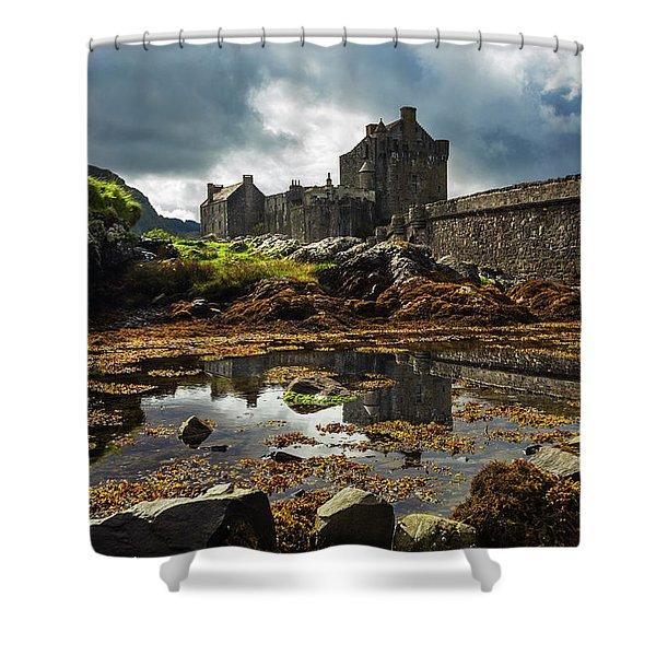 The Eilean Donan Castle Shower Curtain