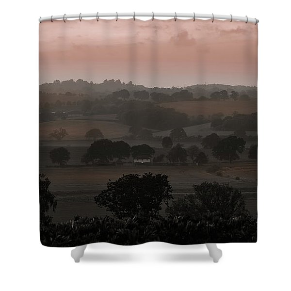 The English Landscape Shower Curtain