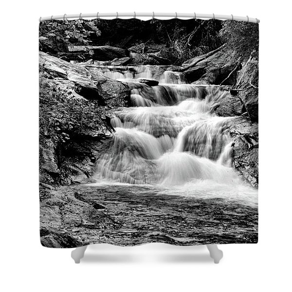 The Falls End Shower Curtain