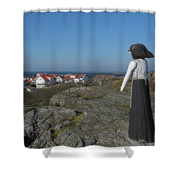 The Fisherman's Wife Shower Curtain