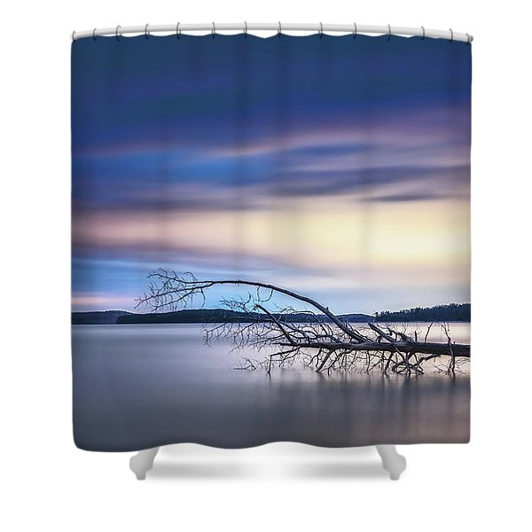The Floating Tree Shower Curtain