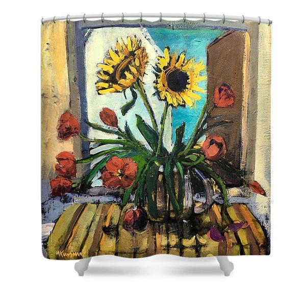 The Garden Inside Shower Curtain
