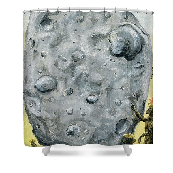 The Gift Of Fire Shower Curtain