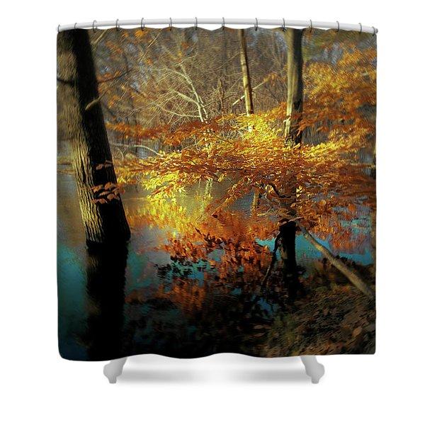 The Golden Bough Shower Curtain