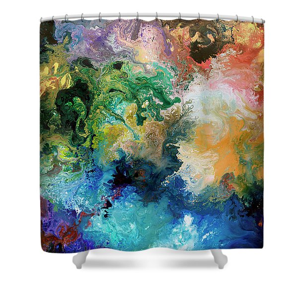The Great Diversity Shower Curtain