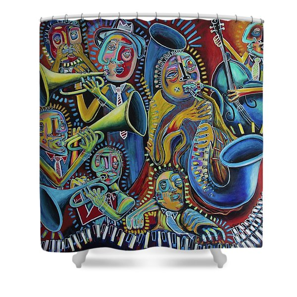 The Groove Shower Curtain