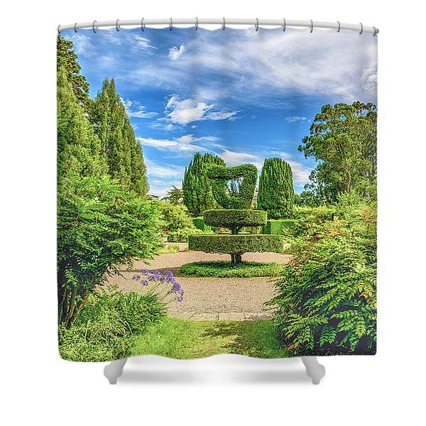 The Harp Shower Curtain