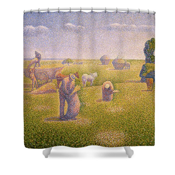 The Harvesters, 1892 Shower Curtain
