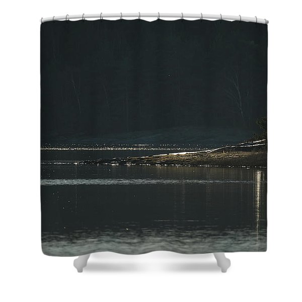 The Headland Shower Curtain