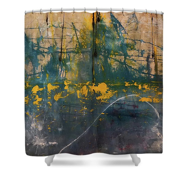 The Heart Of The Sea Shower Curtain