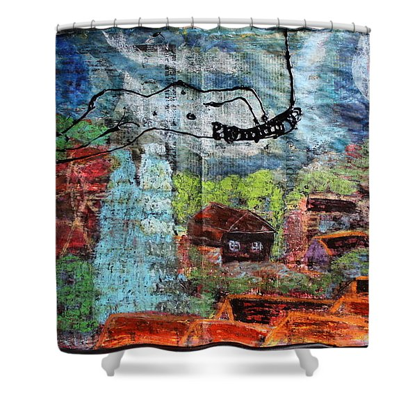 The Hues Brightened Life Seems Good Shower Curtain