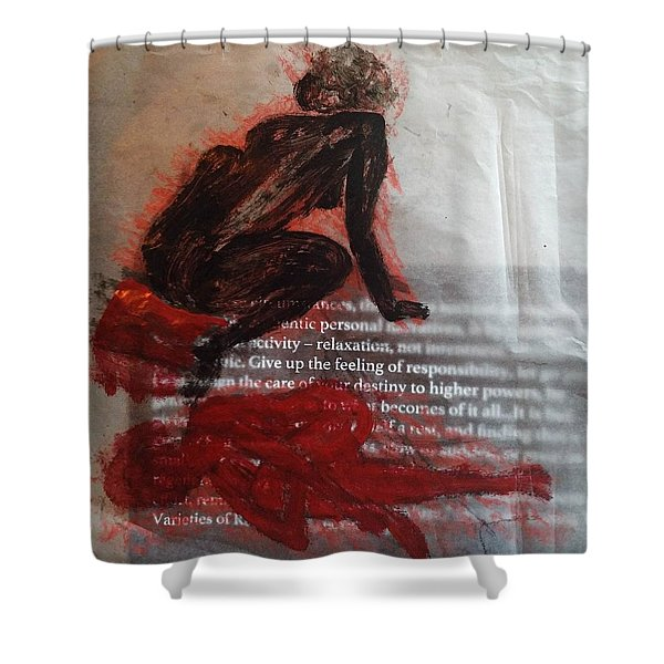 The Immolation Shower Curtain
