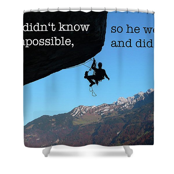 The Impossible II Shower Curtain
