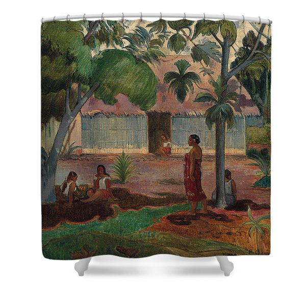 The Large Tree, 1891 Shower Curtain