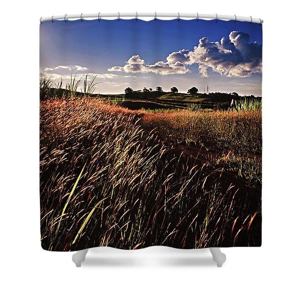 The Last Grassy Field, Trinidad Shower Curtain