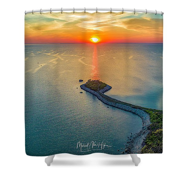 The Last Ray Shower Curtain