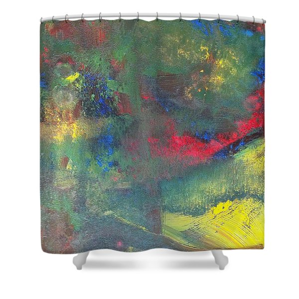 The Light Within Shower Curtain