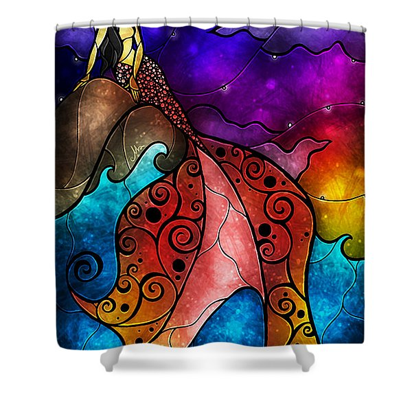 The Little Mermaid Shower Curtain