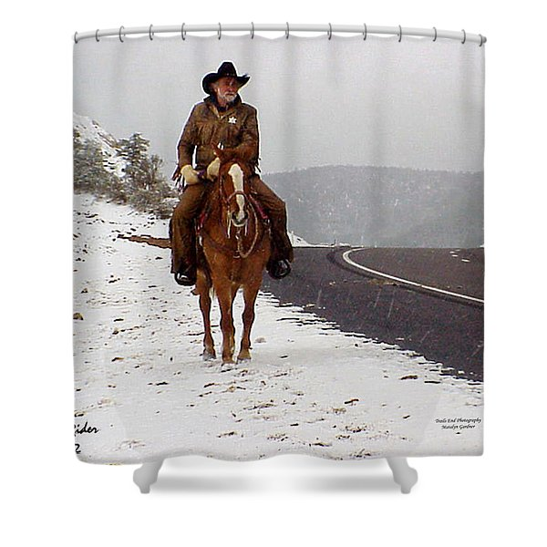 The Lone Ranger Shower Curtain