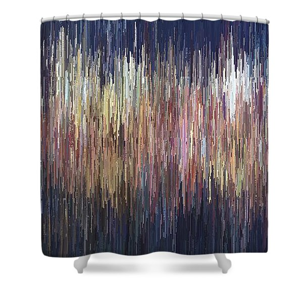 The Look Of Sound Shower Curtain