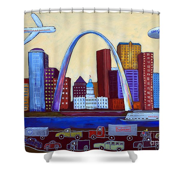 The Lou Shower Curtain