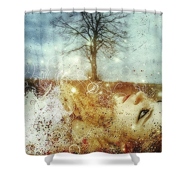 The May Song Shower Curtain