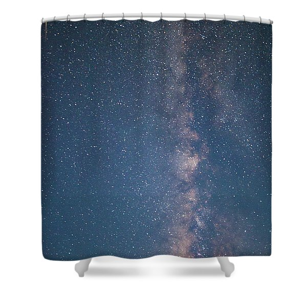 The Milky Way In Arizona Shower Curtain