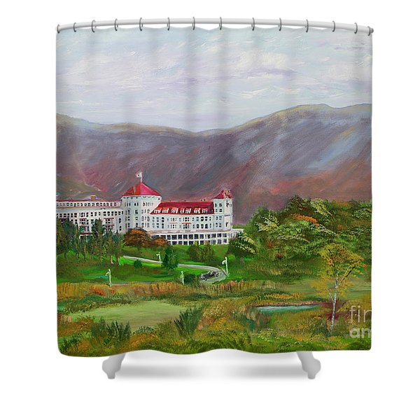 The Mount Washington Hotel Shower Curtain
