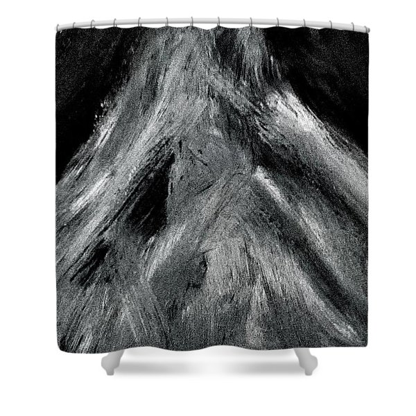 The Mountain Of The Swasi People Shower Curtain