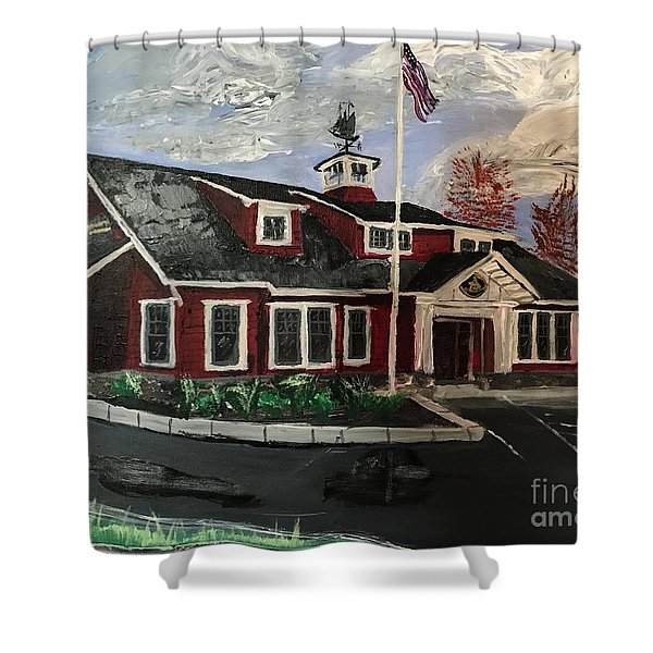 The New Dover, Nh Branch Shower Curtain