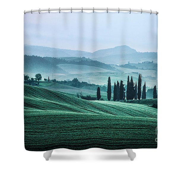 The Night Is Fading Shower Curtain