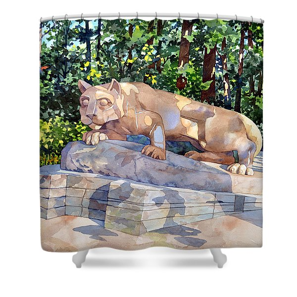 The Nittany Lion Shower Curtain
