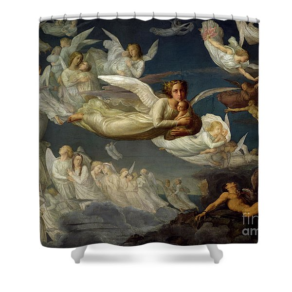 The Passage Of Souls Shower Curtain
