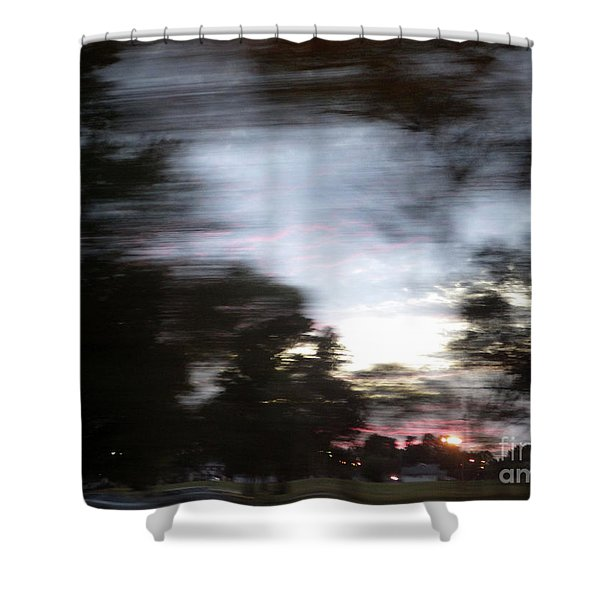 The Passenger 01 Shower Curtain