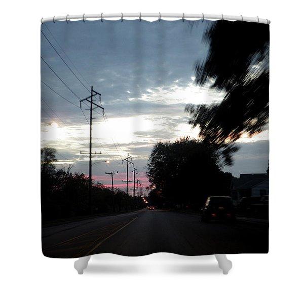 The Passenger 02 Shower Curtain