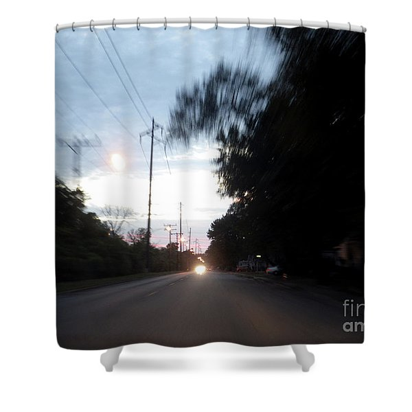 The Passenger 04 Shower Curtain